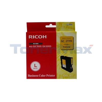 RICOH GX 5050N GC21YH PRINT CART YELLOW 2.3K